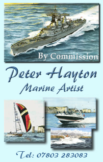 Peter Hayton Marine Artist